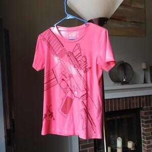 Womens Get Some 7.62 Design Pink T-Shirt